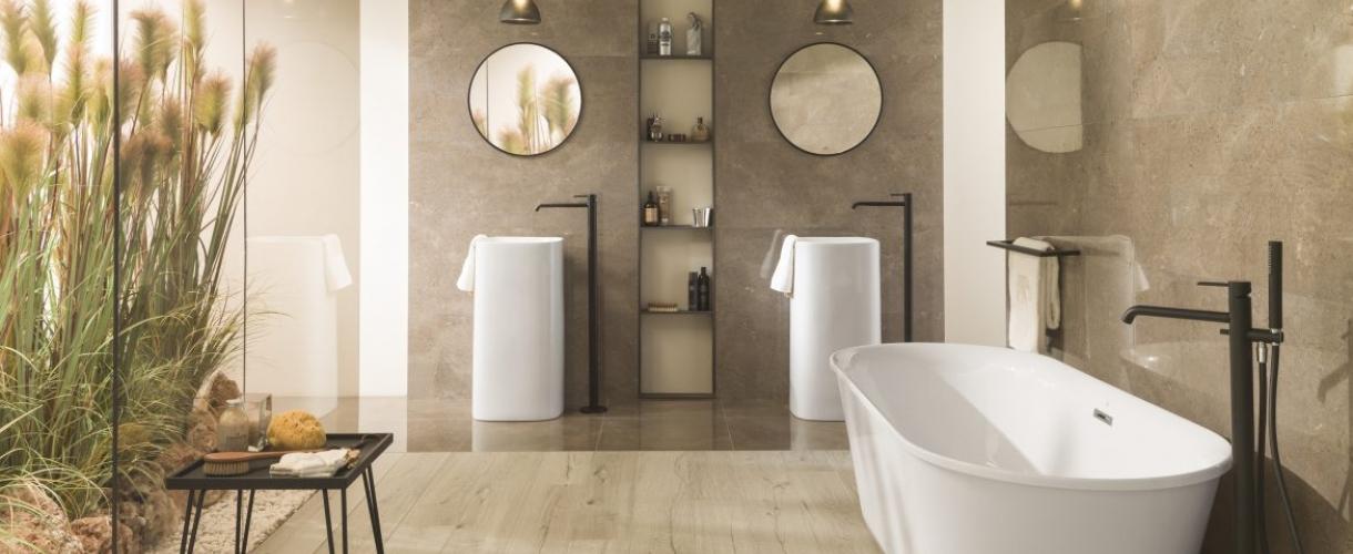 Panele winylowe do łazienki – na podłogę?, a może na ścianę? - odpowiadamy!