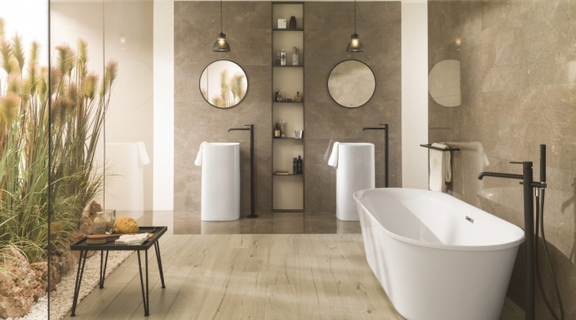 Panele winylowe do łazienki – na podłogę?, amoże na ścianę? - odpowiadamy!